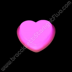 Pin Fluorescente Corazón (1 ud)