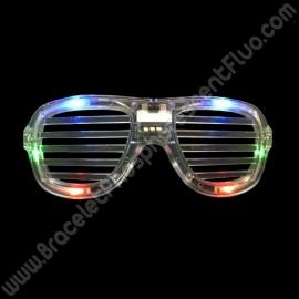 Occhiali Luminosi Led Griglia (1 pz)